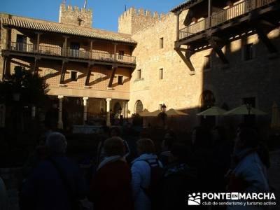Castillo de Sigüenza; fin de semana senderismo; actividades senderismo madrid